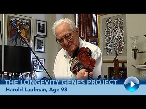 Longevity Genes (3 of 5): Harold, Age 98