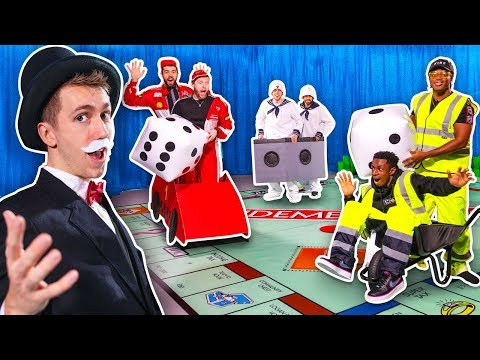 SIDEMEN MONOPOLY IN REAL LIFE