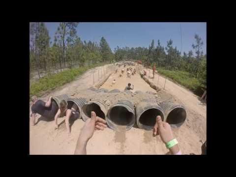 Rugged Maniac 2017 5k Run with 25 obstacles -Rockingham, North Carolina - Preety & Ajay