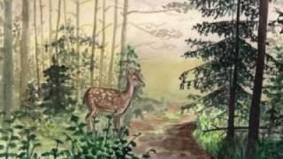 Детская песня. Лесной олень