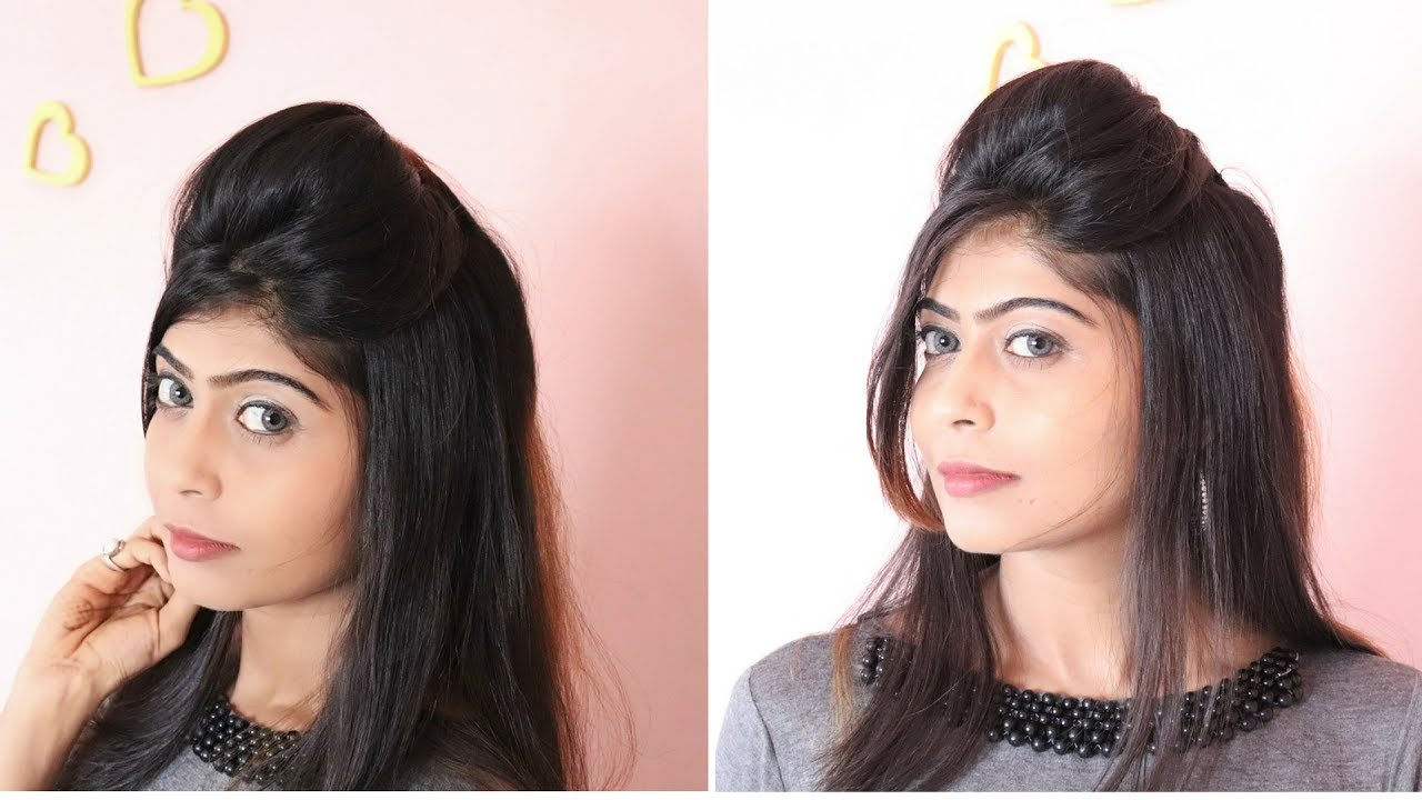 Quick & Easy Puff Hairstyle | Rinkal Soni - YouTube