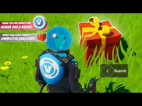 Fortnite Secret Challenge Reward