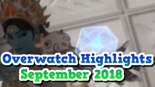 Meine Overwatch Highlights September 2018 l Overwatch