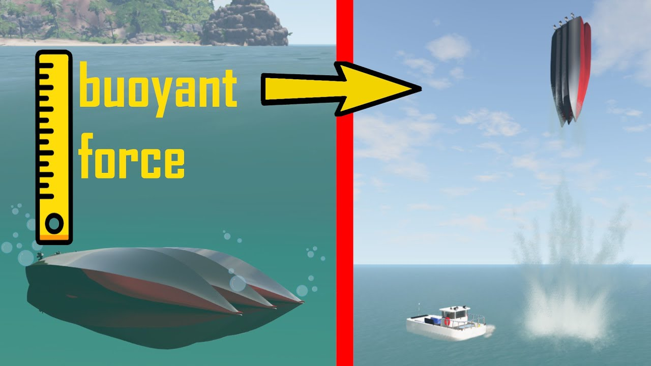 This happens when you spawn large hermetically sealed objects underwater - beamng drive | Car Pal