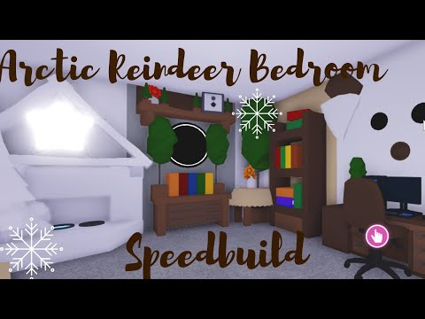 Roblox Youtube Adopt Me Cool Beds For Babies Arctic Reindeer Bedroom Speedbuild Roblox Adopt Me Youtube