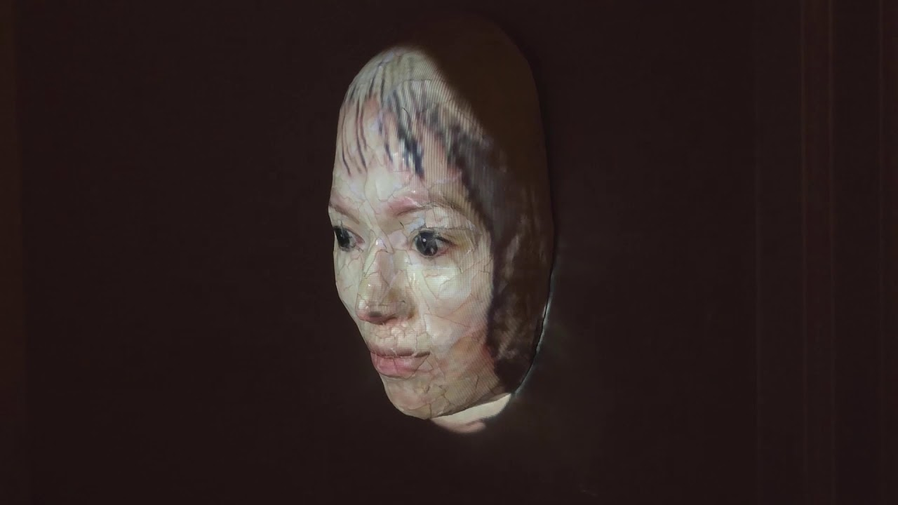 Mask Projection by Miya Turnbull
