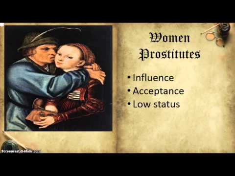 In What Ways Were Woman Affected in the 14th century?