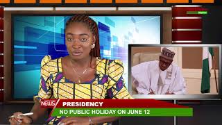 NO PUBLIC HOLIDAY ON JUNE 12