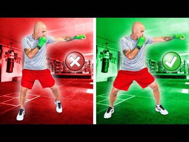 Don't Pivot to Turn Your Hips on the Jab   This is what you SHOULD do!