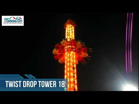 04 Twist Drop Tower 18 m AIO - MammaMia Rides - Amusement Rides