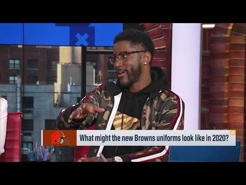 What might the new Cleveland Browns uniforms look like in 2020?