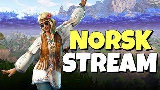 NYE SKINS // 340+ WINS // NORSK FORTNITE STREAM