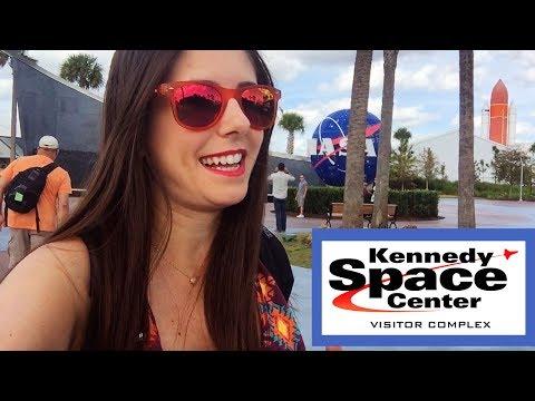 Vlog DISNEY dia 10: NASA   Como é o KENNEDY SPACE CENTER