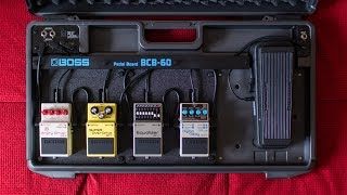 Boss BCB-60 Pedalboard Assembly