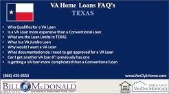 Texas VA Loans
