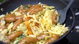 Жарю картофель по особому фирменный рецепт моей Сибирской бабушки