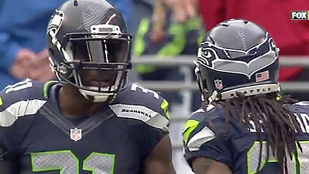 Richard Sherman & Kam Chancellor Get Into Heated Argument