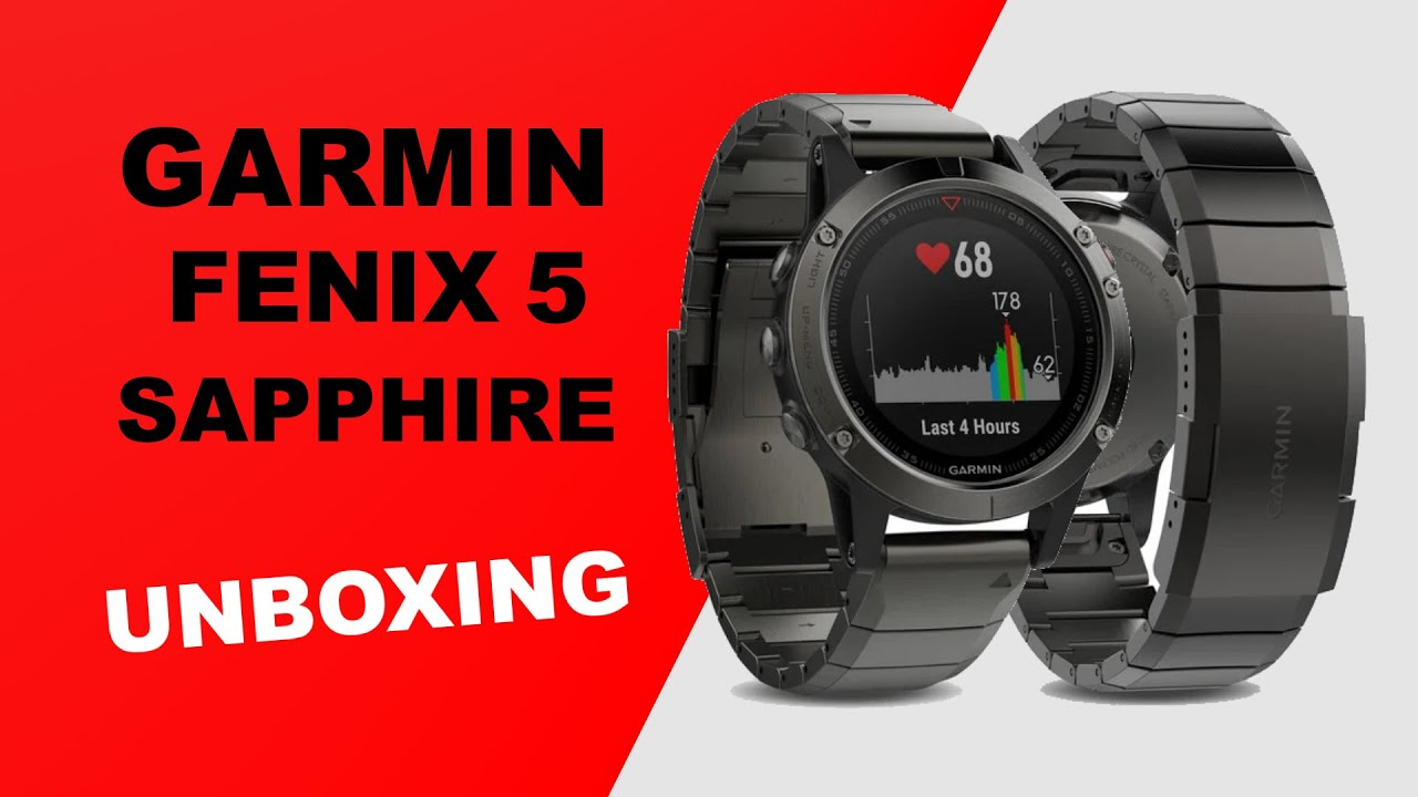 unboxing sapphire hd watch garmin youtube fenix