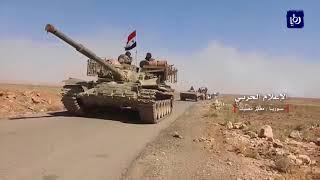 دمشق تتصدى لعدوان الاحتلال والجيش يتقدم في درعا مع عودة آلاف النازحين - (9-7-2018)
