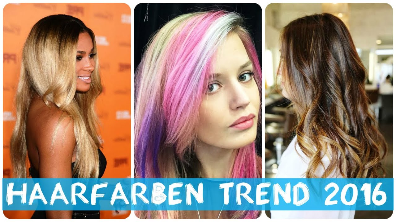haare farben trends 2016 stilvolle frisuren beliebt in deutschland. Black Bedroom Furniture Sets. Home Design Ideas