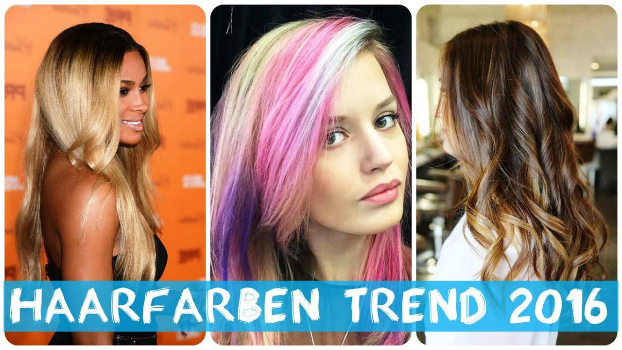 Haare farben trends 2016