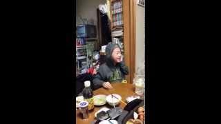 みんなで食事しながらsecond聴いていたらうちの息子がなんとDJに(笑)
