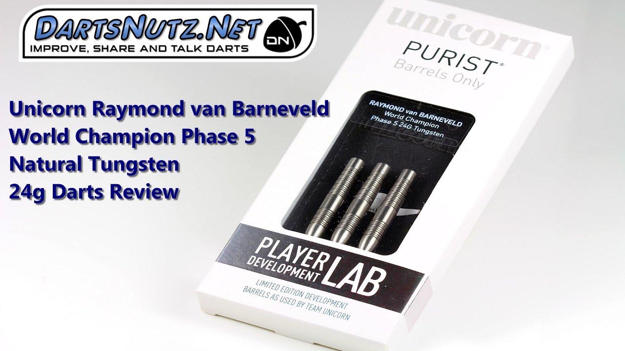 Unicorn Barneveld Phase 5 Natural 24g darts review