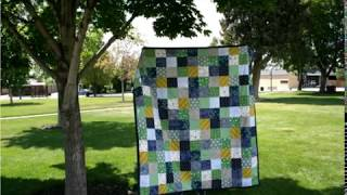 Jumbo Picnic Quilt Preview