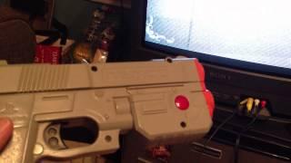 PS1 PSX GunCon & Gunfighter: The Legend of Jesse James PS1 Review