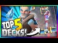 TOP 5 BEST ICE WIZARD DECKS In CURRENT META Arena 8 To Arena 11 Clash Royale Strategy mp3