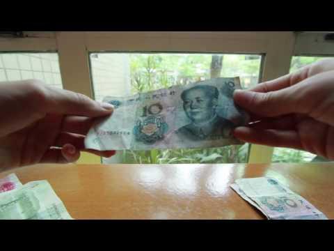 ASMR Chinese Yuan Money with Talking