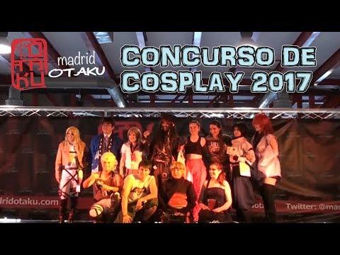 MADRID OTAKU 2017 - CONCURSO DE COSPLAY