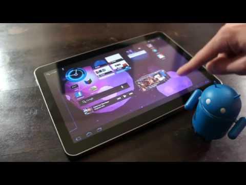 Samsung Galaxy Tab 101 Changing Wallpapers
