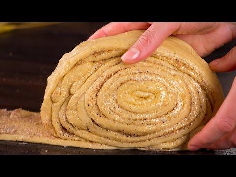 apprenez-à-préparer-la-plus-délicieuse,-délicate-et-aérée-brioche-géante-aux-pommes-!-ǀ-savoureux.tv