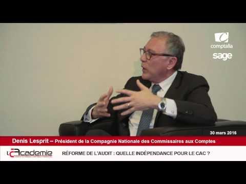 Les Entretiens de l'Académie : Denis Lesprit (2/7)