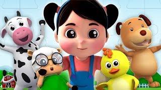 si tu eres feliz | canciones para niños | Canciones Infantiles | If You're Happy | Farmees Español