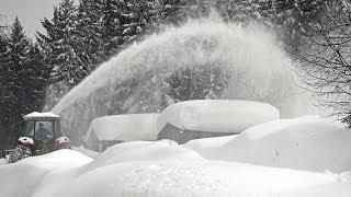 Снегопады в Австрии привели к человеческим жертвам