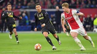 Matthijs De Ligt(Ajax) vs Cristiano Ronaldo(Juventus) || HD