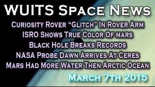 NASA Curiosity Rover Short Circuit, ISRO Shows Mars True Color & More! WUITS Space News