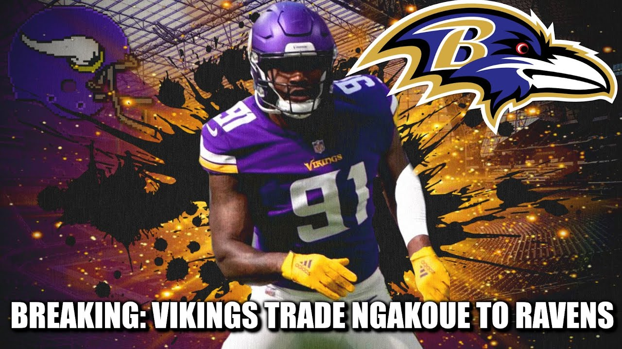 Ravens players freak out about Yannick Ngakoue trade