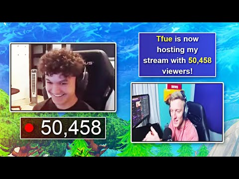 Tfue hosted me during the World Cup and this happened