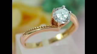 Помолвочное кольцо из золота 585 пробы(, 2016-09-02T07:48:17.000Z)