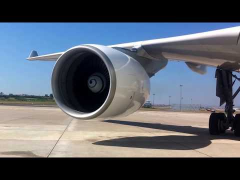 Pratt & Whitney PW4168  A330 Engine start up