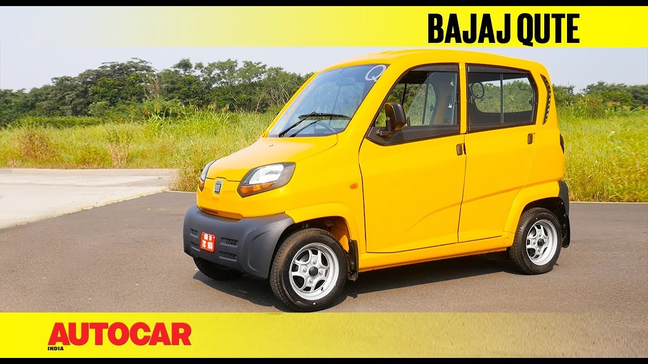 Bajaj Qute | First Drive Review | Autocar India