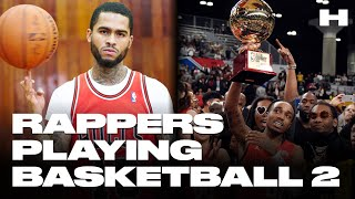 RAPPERS PLAYING BASKETBALL V2 (Drake, J. Cole, Dave East, Quavo, Lil Dicky + MORE)