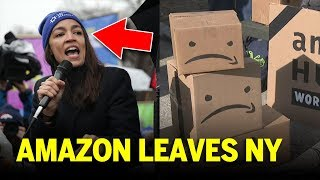 AOC & Others FORCE Amazon Out Of NYC, But Why?