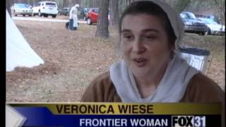 Frontier Fest, life in the 1700's