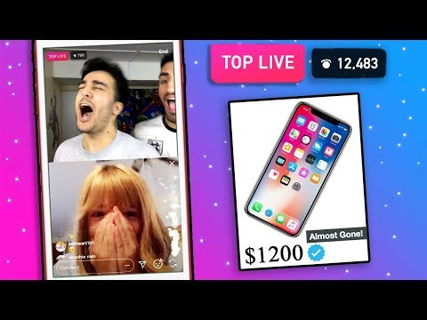 Fans Decide EVERYTHING We Buy for 24 HOURS CHALLENGE! *INSTAGRAM LIVE REACTION*