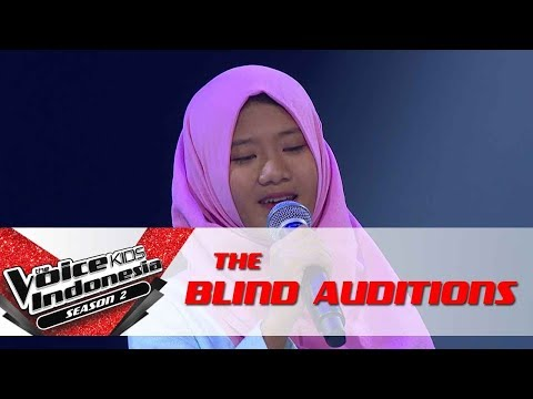 "Nadia ""Cinta Terbaik"" | The Blind Auditions | The Voice Kids Indonesia Season 2 GTV 2017"
