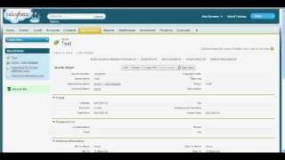 Using Quotes in Salesforce.com